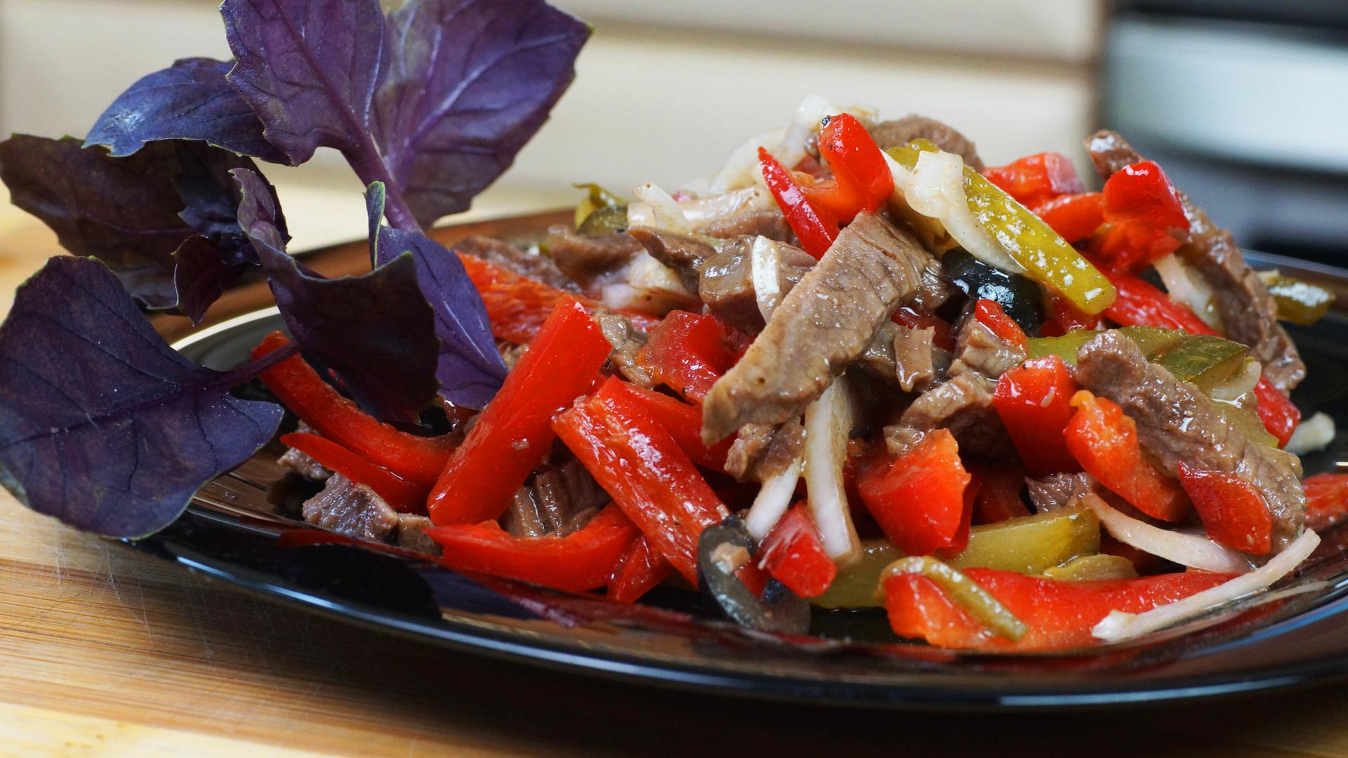 салат из говядины отварной рецепт с фото знатоков будет пара